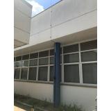 instalação de spda telhado metálico Lapa