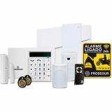 orçar sistema de alarme e monitoramento Jaguaré
