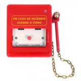 sistema de alarme de incêndio industrial Serra da Cantareira