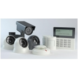 sistema de alarme com câmera